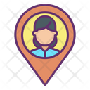 Muser Map Location Pin User Location Person Location Icon
