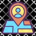 Muser Location User Location Person Location Icon
