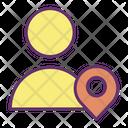 Muser Loaction Pin User Location Person Location Icon