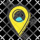User Location Location Pin Man Location Icon