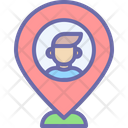 Location Map Mark Icon