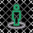 User Location Navigation Icon