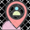 User Location Profile Location Person Location Icon