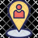 User Location Employee Location Geolocalization Icon