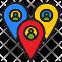 User Location Person Location People Icon