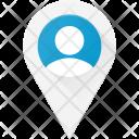 User Location Pin Icon