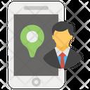 User Location Personal Location Online Location Icon