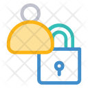 User Lock Secure Icon