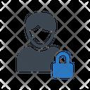 Private Lock Profile Icon