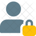 User Lock Interface Icon