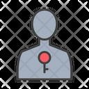 User Lock Lock User Private Profile Icon
