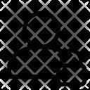 User Lock Profile Icon