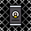 Login Mobile Profile Icon