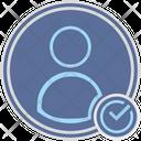 User Ok Login Icon