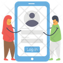 User Login Password Icon