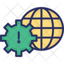 User Management Gear Global Icon