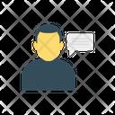 Message Bubble User Icon
