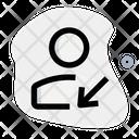 User Move Down Icon