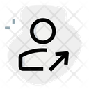 User Move Up Icon