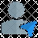 User Navigation User Location Gps Navigation Icon