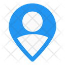 User Nearby User Location Gps Navigation Icon