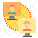 Network User Network User Connection Icon