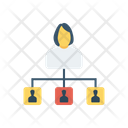 Connection Network User Icon