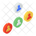 User Network Organization Association Icon