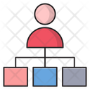 Network User Connection Icon