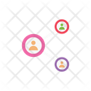 Network Connection Marketing Icon