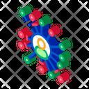 Network Computer Web Icon