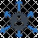 User Network Avatar Icon