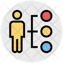 Sharing Network Business Icon