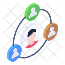 Personal Network Personal Connection Social Person Icon