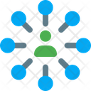 User Network People Network User Connection Icon