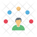 Network Employee Connection Icon