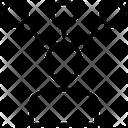 User Network Profile Network Man Network Icon