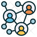 Networking Teamwork Relationship Icon