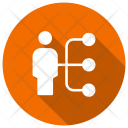 User Networking Connect Icon