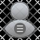 User Option Menu User Icon