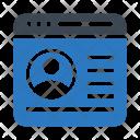 Account Menu Browser Icon