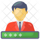 Personal Security Personal Protection User Privacy Icon