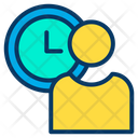 Schedule Time Management User Time Management Icon