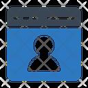 Profile User Webpage Icon