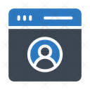 Profile Account Webpage Icon