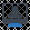 User Profile Video Icon