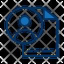 User Profile Cv Resume Icon