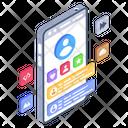 Mobile Profile Mobile Account User Profile Icon