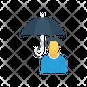 User Account Umbrella Icon