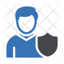 User Protection User Security Icon